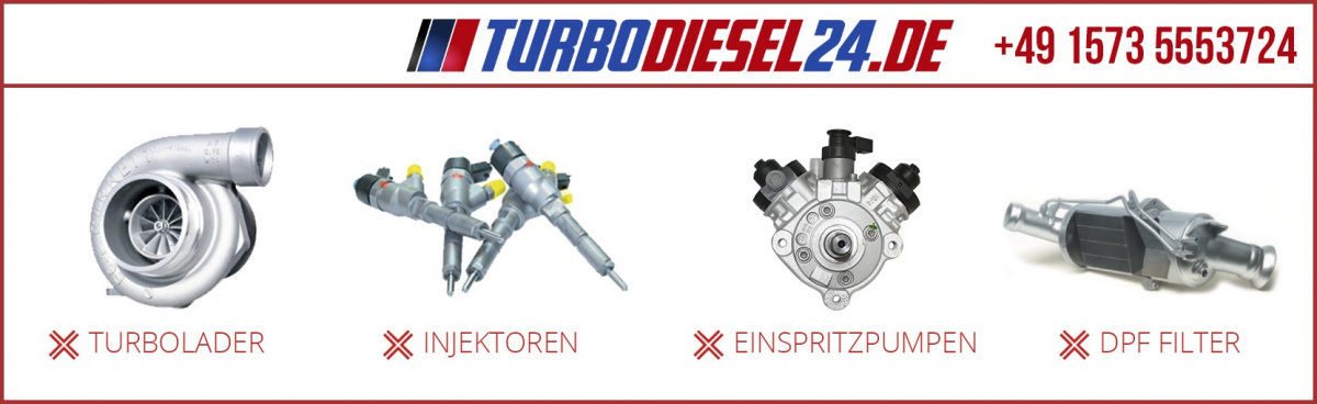 Turbolader 777318 MERCEDES-BENZ 3,0CDI